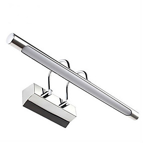 cheap Indoor Lighting-LED Mirror Lights Acrylic 12W 22.44in Bathroom Wall Lamps Stainless Steel Iron Make-up Lights