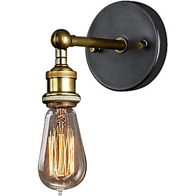 cheap Indoor Lighting-Country Wall Lamps & Sconces Metal Wall Light 220V 110-120V 40w / E26 / E27