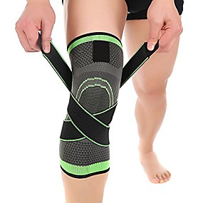 cheap Massagers & Supports-sports knee brace support compression lower calf sleeves breathable leg wraps for women & men shin splint pain relief running basketball cycling maternity,1 pcs (xxl)