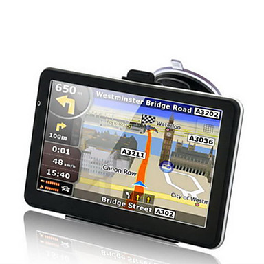 cheap New Arrivals-7inch 8G 256M GPS Navigation for Car HD Windows CE 6.0 Touch Screen Car Truck GPS Navigator Free maps with Voice Guidance