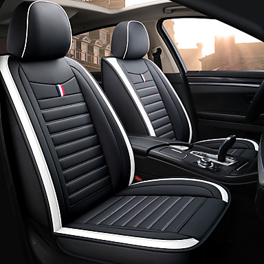 cheap New Arrivals-Shangxiang New car seat cover car cover four seasons cushion cover leather seat cover/Adjustable and Removable/Family car/SUV
