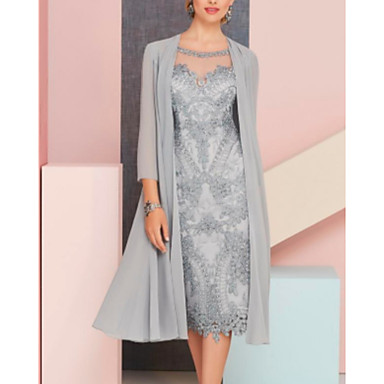 cheap Party Accessories-3/4 Length Sleeve Shrugs Chiffon Wedding / Party / Evening Women's Wrap With Solid