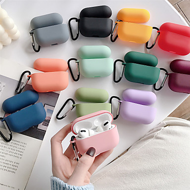 cheap Earphone Accessories-Solid Color Hard PC Earphone Case For Airpods Pro Headphone Case (AirPods Charging Case Not Included)