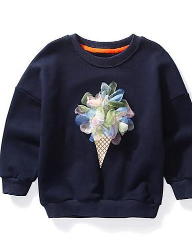 Dívčí Bavlna Květiny Podzim Blůzky 0ae7c62c23