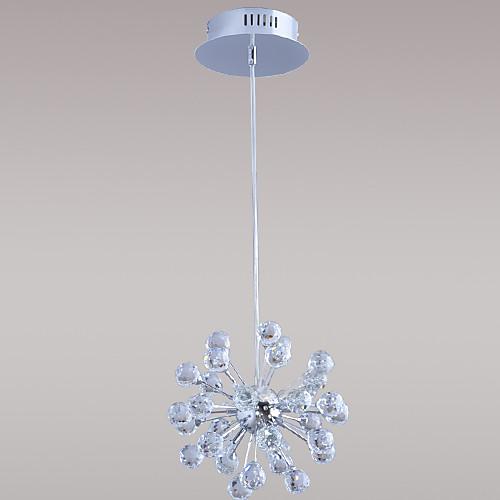 Knine Crystal Chandelier With Six Lights In Globe Shape