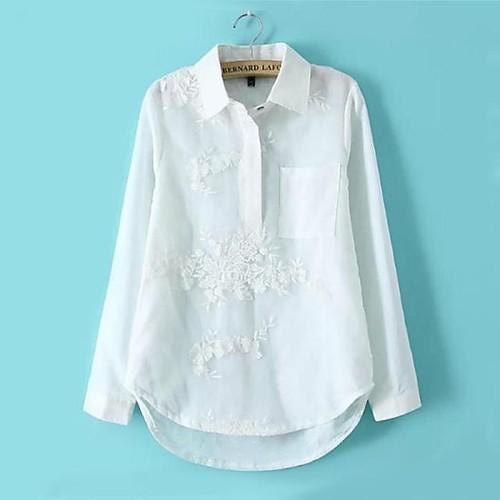 Рубашки женские 2016 белые