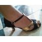 satiné / similicuir supérieure chaussures danse de salon latin chaussures à talons hauts pour femmes