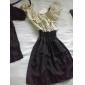 scurt cu maneci rochie buline femei (cu centura)