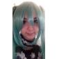 Peruci de Cosplay Vocaloid Hatsune Miku Verde Extra Lung Anime/ Jocuri Video Peruci de Cosplay 130 CM Fibră Rezistentă la Căldură Feminin