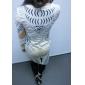 Women's Gold Stamp Bodycom Long Sleeve Dress