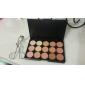 15 Correcteur/Contour Humide Mat Lueur CrèmeProtection Solaire Couverture Blanchiment Anti Peau Grasse Longue Durée Correcteur Tonalité