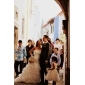 CHQY Linia -A Rochie de mireasă - Elegant & Luxos Fermecător & Dramatic Inspirație Vintage Trenă Catedrală Fără Bretele Organza cuMărgele