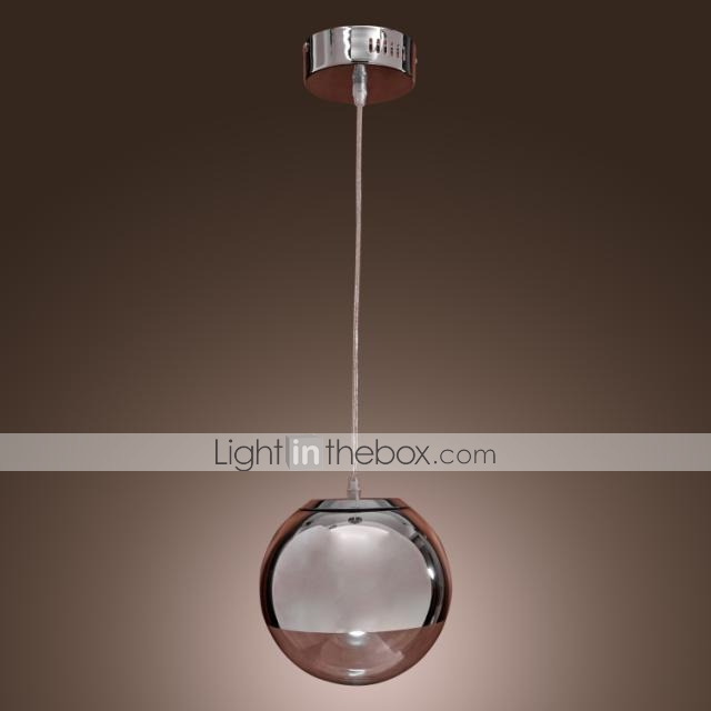 Pendant Light ModernContemporary Globe Chrome Feature For Mini - Kitchen pendant lighting globes