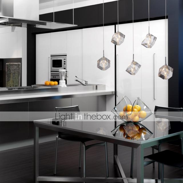 Pendant Light , Modern/Contemporary Island Chrome Feature