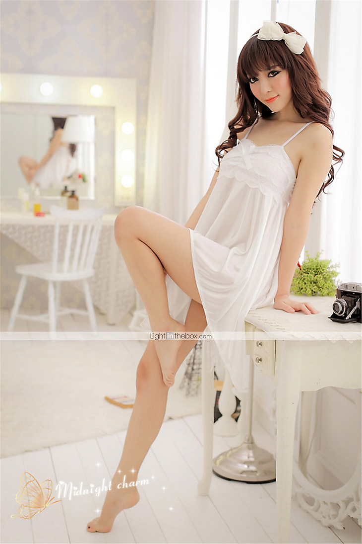 3b63528558 Women s Sexy Babydoll   Slips   Robes   Ultra Sexy Nightwear Solid Colored  2898165 2019 –  5.96