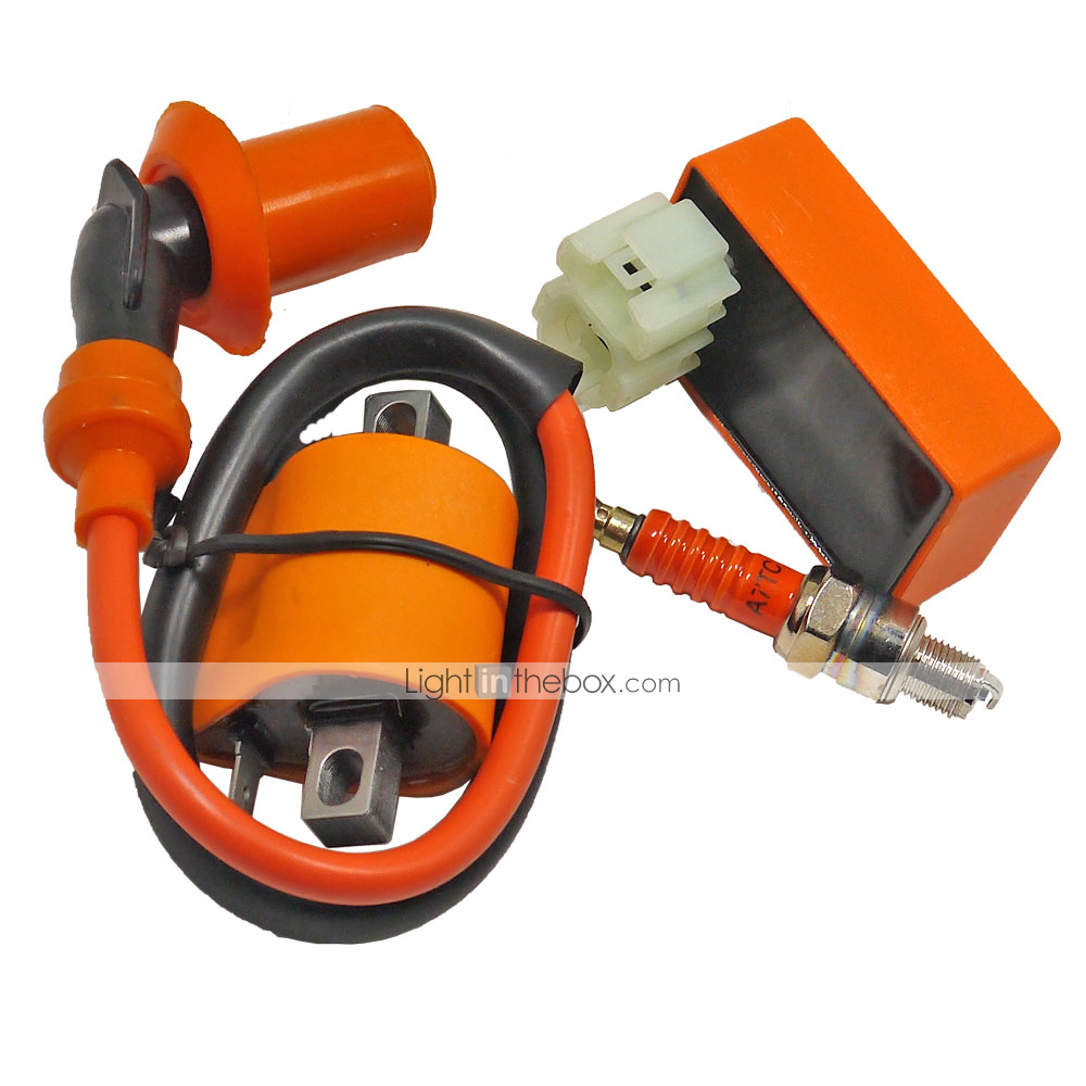CDI Cable Wire Adapter Connector Plug Für Scooter Moped Pit Dirt Bike ATV