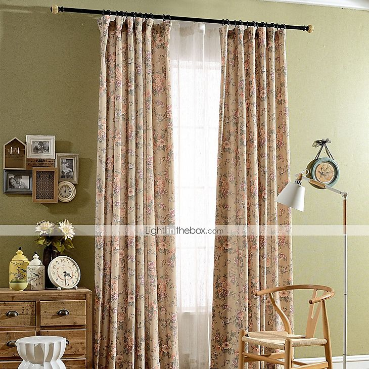 Country Curtains Drapes Two Panels Living Room Curtains Bedroom