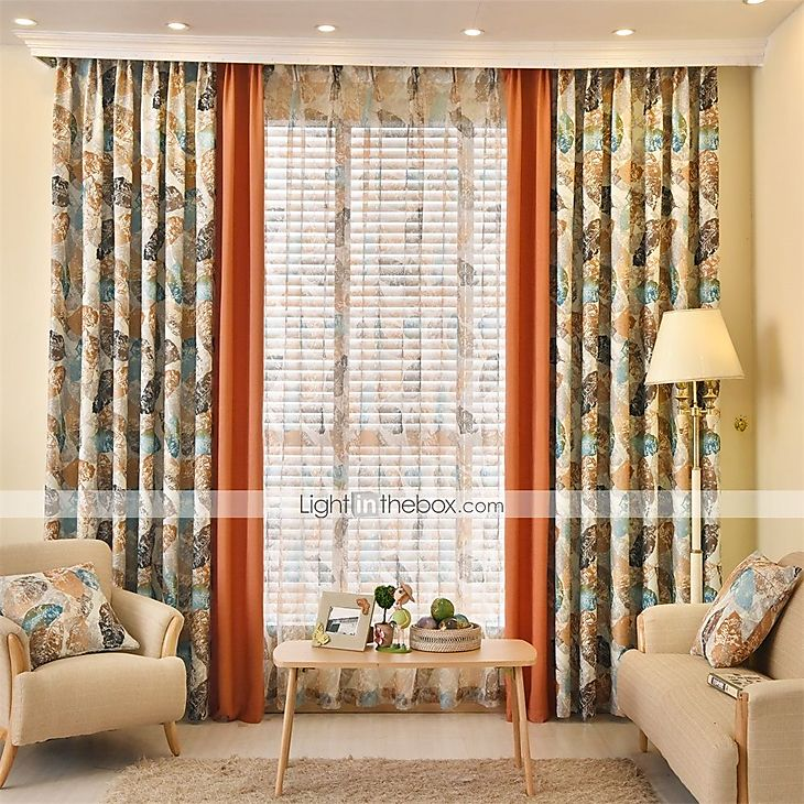 Country Curtains Drapes Two Panels Living Room Curtains 5027450