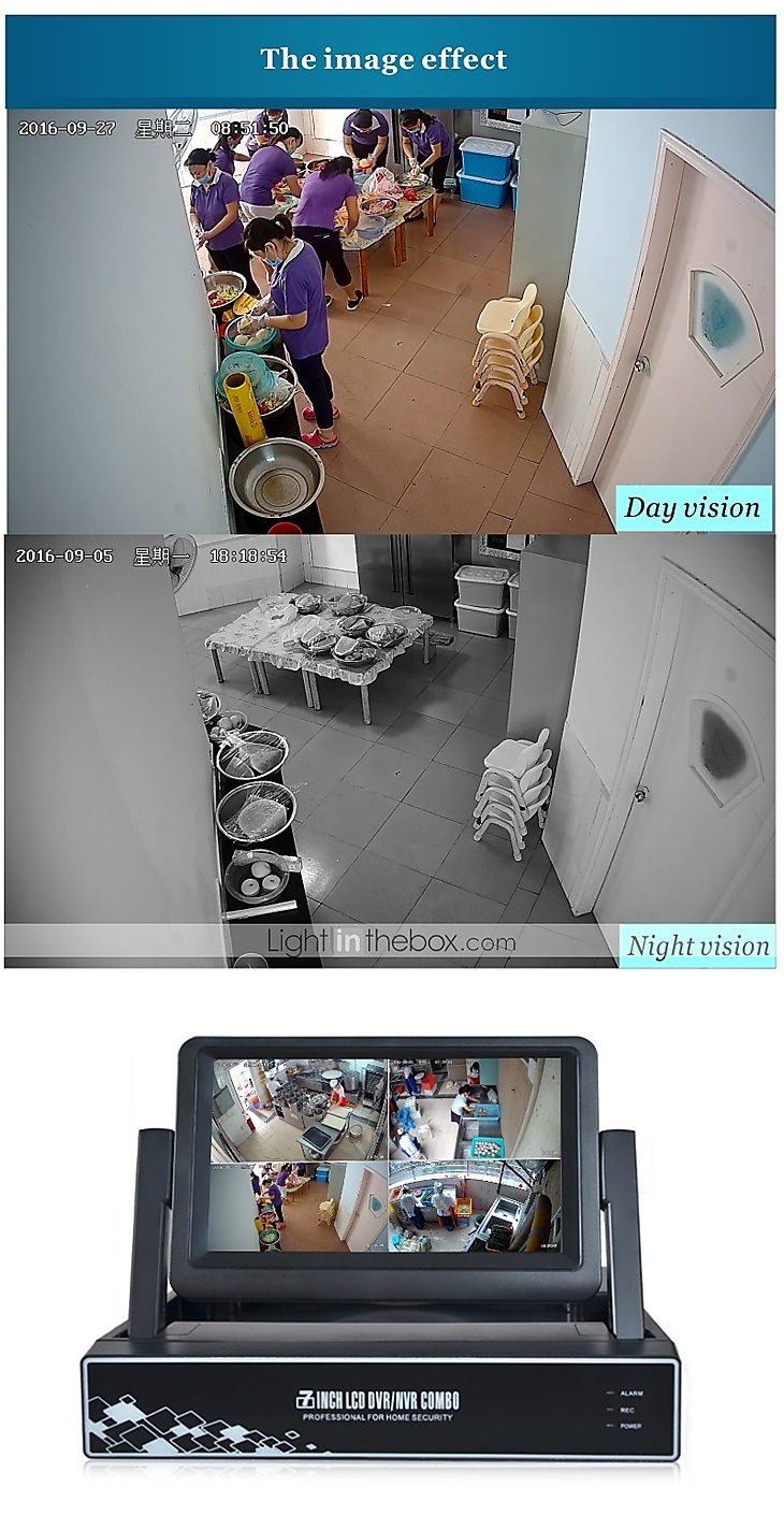 Strongshine® Wireless IP Camera with 960P Infrared Waterproof and