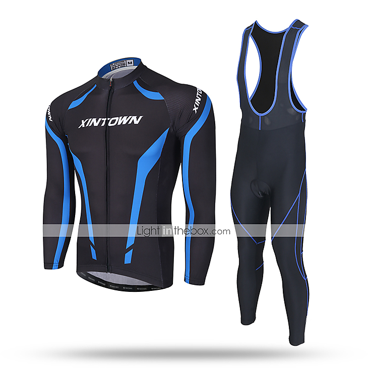 Cycling Jersey Long Sleeve Pants//Bibs Bicycle Winter Clothing