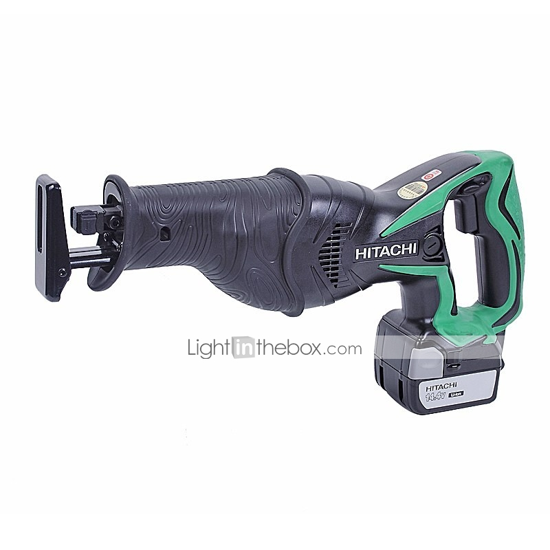 hitachi reciprocating saw. maximum output power: 380w; powerful air-cooled structure; tool-free knob-type saw blade replacement structure hitachi reciprocating
