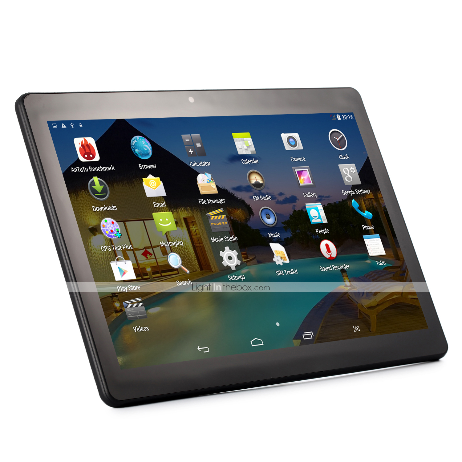 Jumper 10 1 inch Android Tablet (Android 5 1 1280 x 800 Quad Core