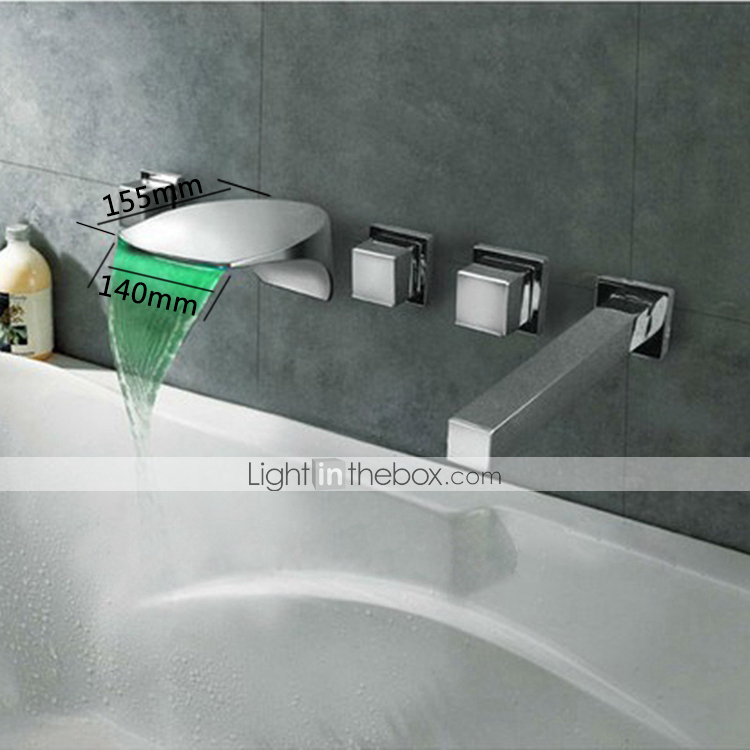 Wall Mount Led Faucet - Lightinthebox.com