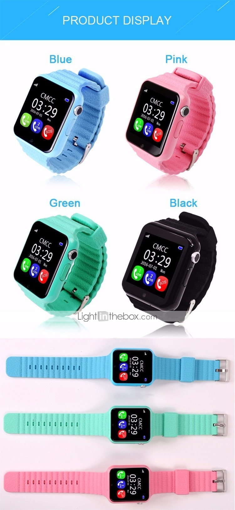 Kids Watches For Ios Android Heart Rate Monitor Calories Burned Smartwatch Q50 Smart Watch With Gps Sim Card Black Photos