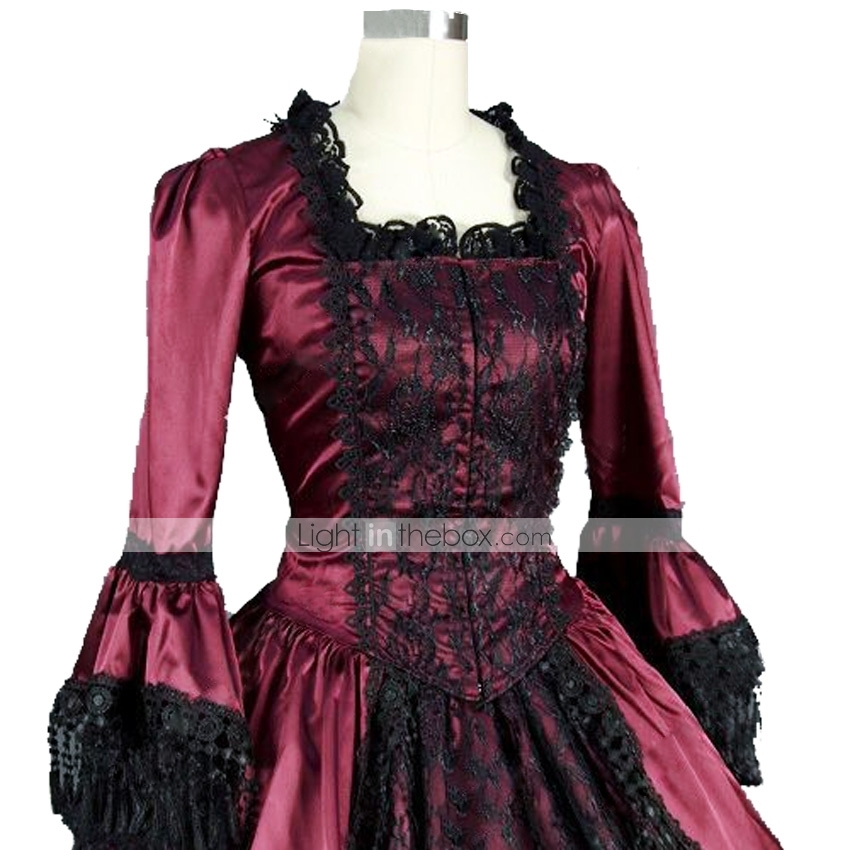 Rococo Victorian 18th Century Dress Party Costume Women's