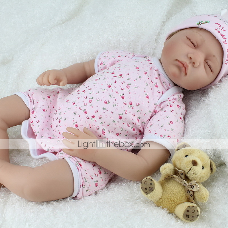 Boy Lifelike soft vinyl Doll Newborn Full Body Floppy Silicone Reborn Doll Baby
