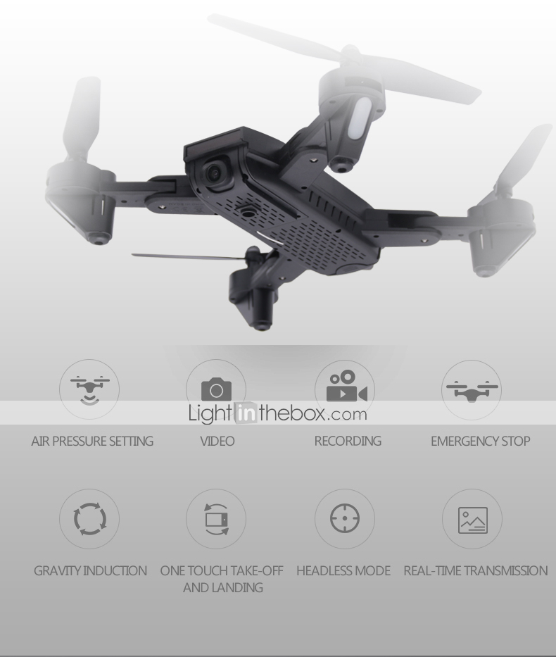 RC Drone DMRC DM107S 4CH 6 Axis 2 4G With HD Camera 2 0MP 1080P*720P
