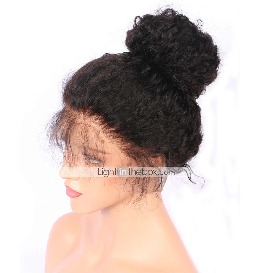 b5ac7c6efc5 ... length options, from 8 inches to 24 inches. When you put on the wig, you  need to cut the lace front. This will make your hairline look more natural.