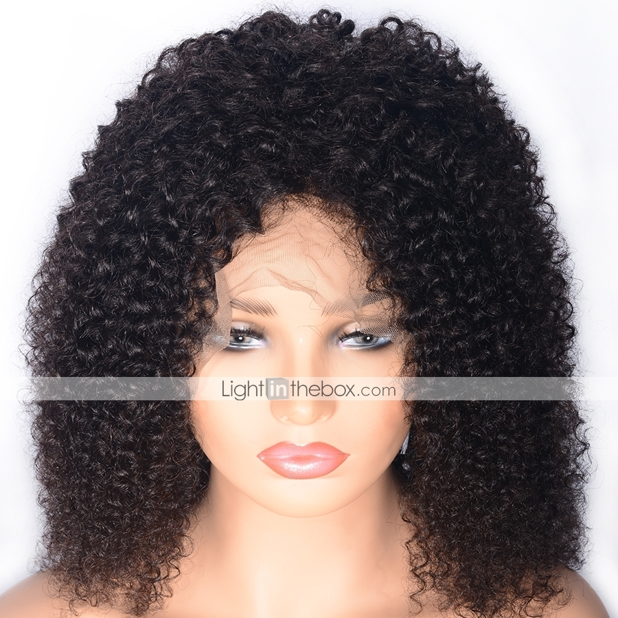 Afro Comb and Black Curly Synthetic Wig Set Kit Funny Accessories Novelty Movie