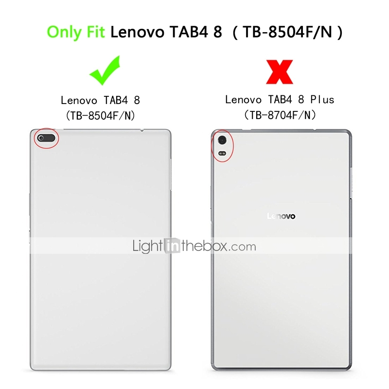 Case For Lenovo Lenovo Tab 4 8 with Stand / Magnetic Full Body Cases