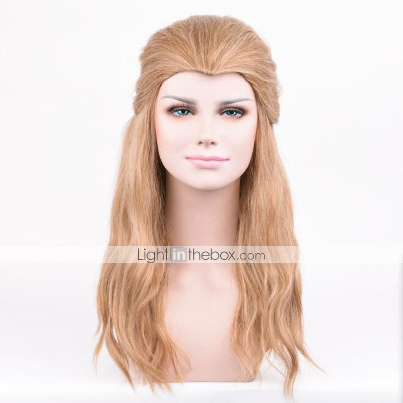 Blonde Short Shoulder Length Anime Cosplay Costume Wig