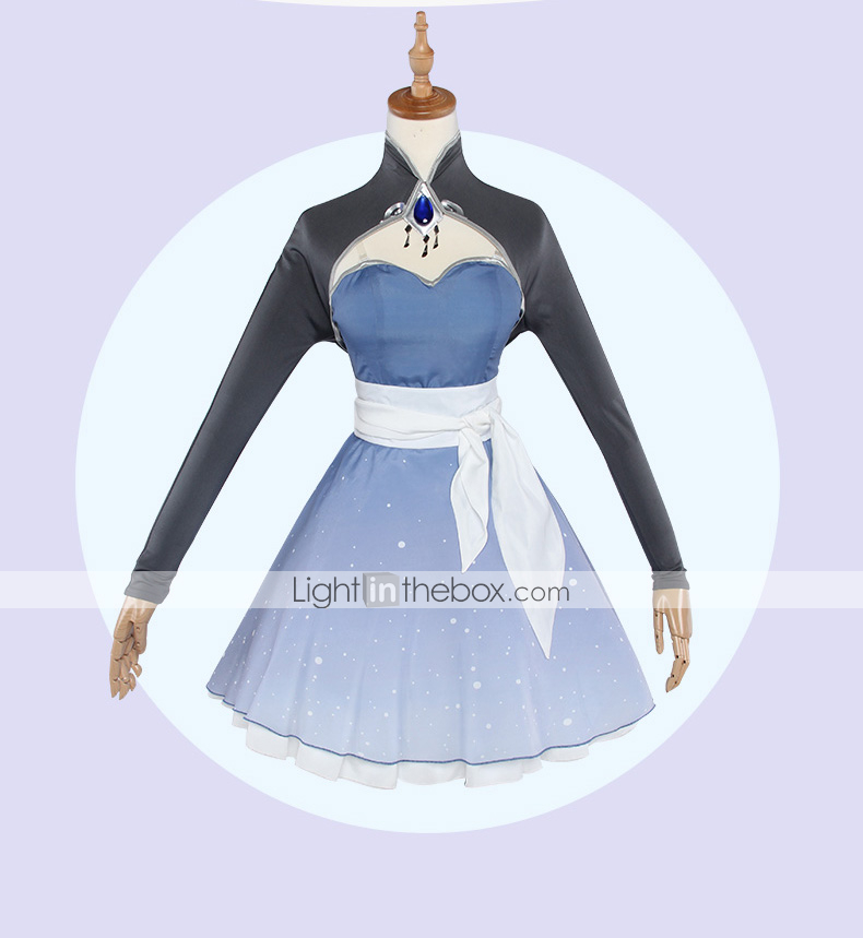f9cd3d907d4d2 Inspired by RWBY Weiss Schnee Anime Cosplay Costumes Cosplay Suits ...