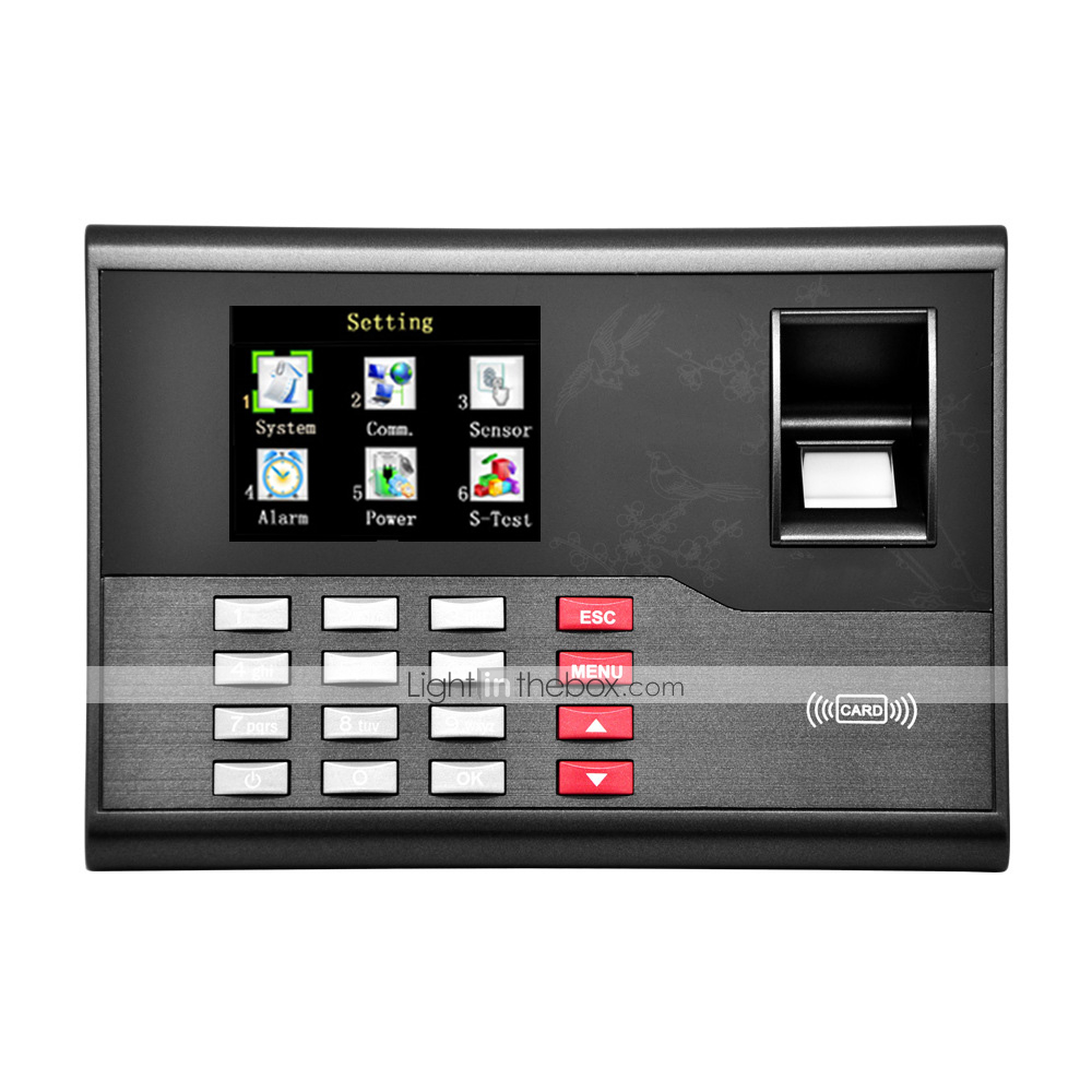 5YOA A120 Attendance Machine RFID / Record the Query