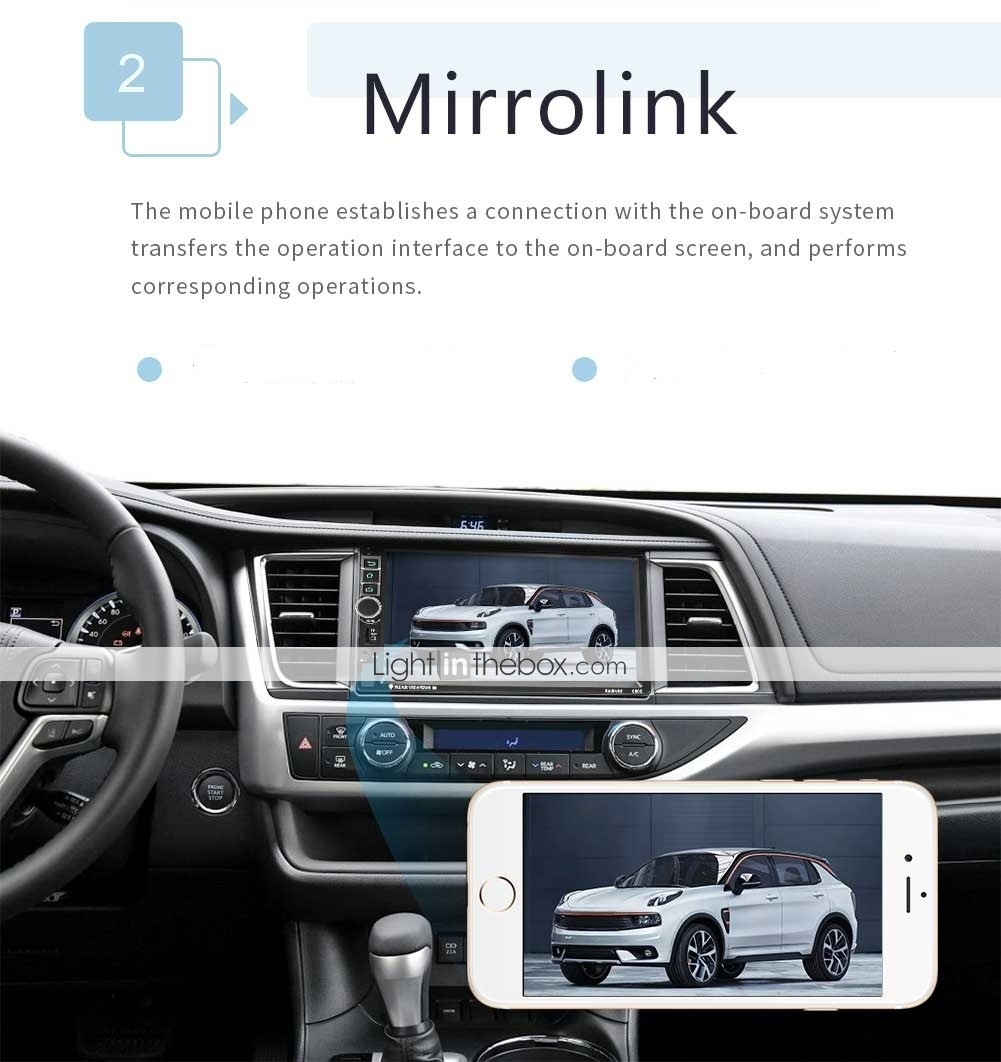 SWM 8802 7 inch 2 DIN Android 7 1 Car MP5 Player / Car MP4