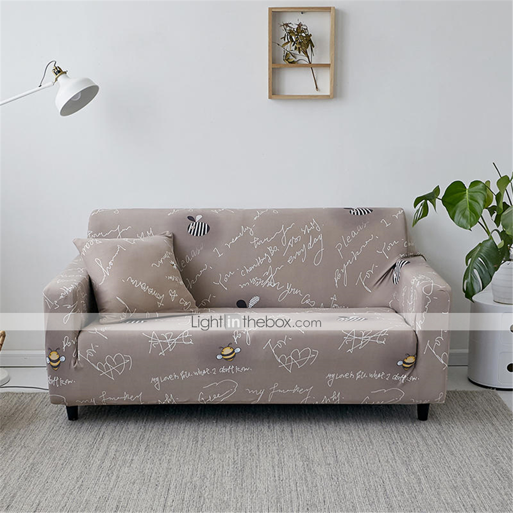 Fine Sofa Cover Romantic Yarn Dyed Polyester Cotton Blend Theyellowbook Wood Chair Design Ideas Theyellowbookinfo