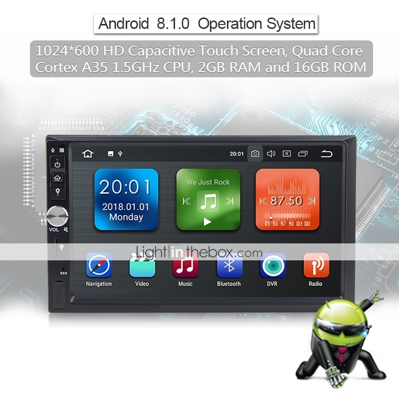 LITBest WN7092 7 inch 2 DIN Android 8 1 Car Multimedia