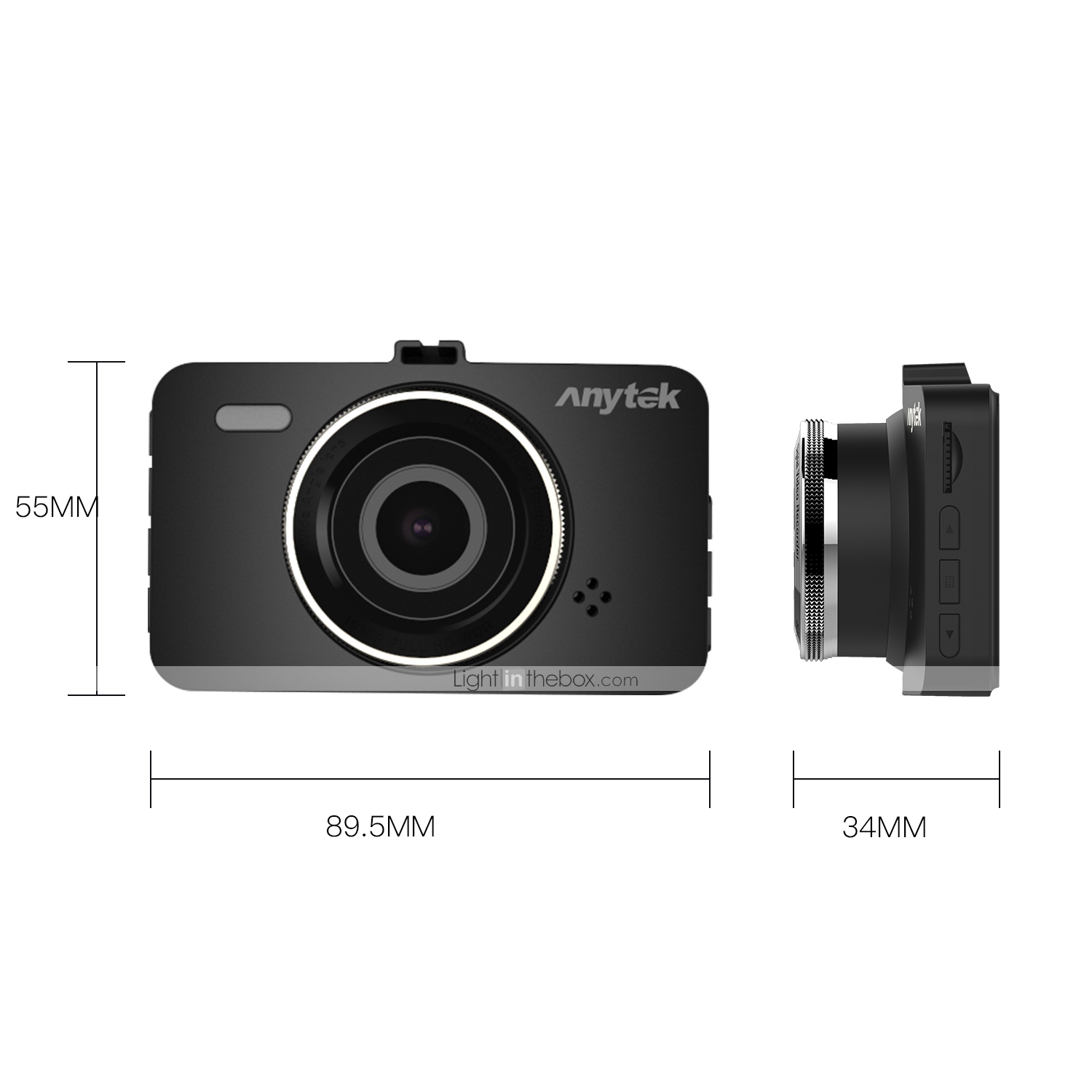 Anytek A78 New Design / Boot automatic recording Car DVR 170