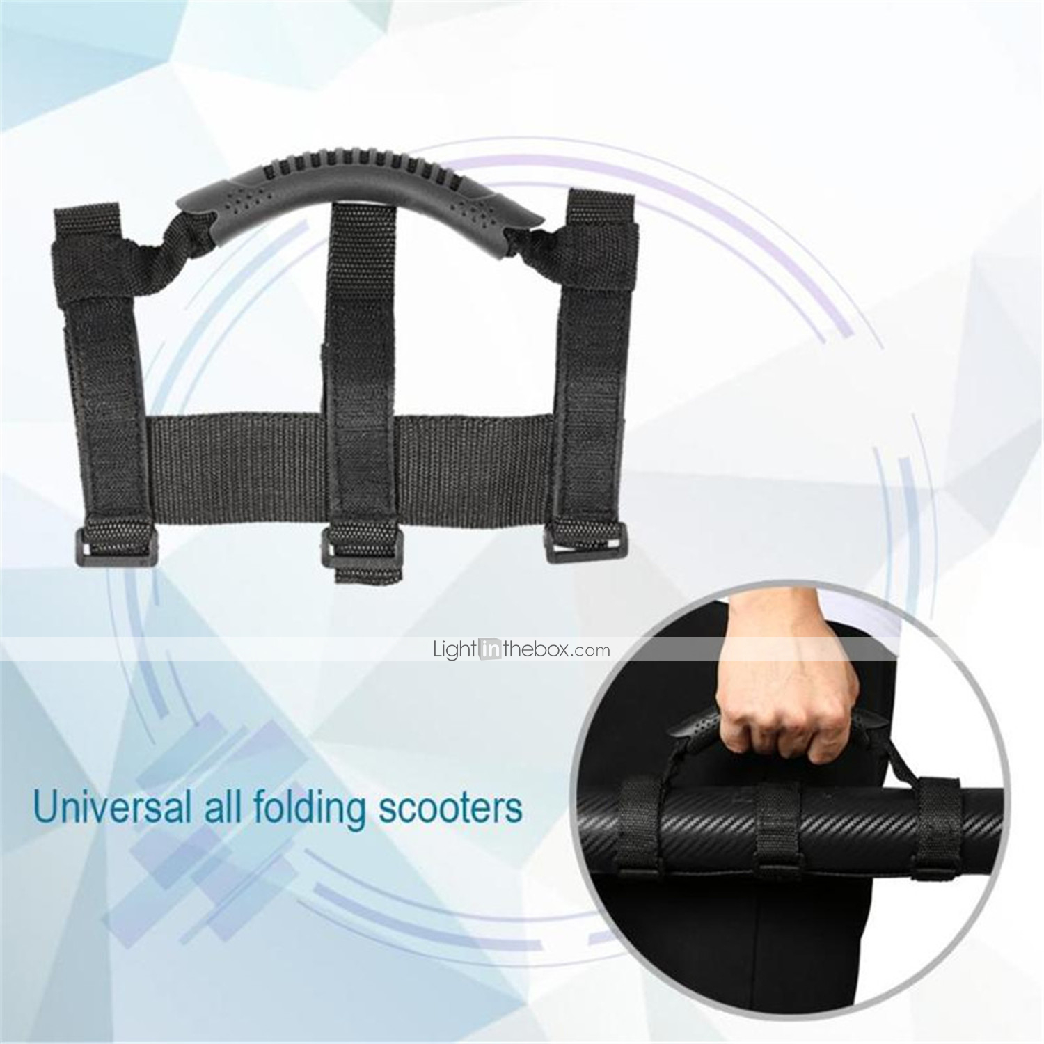 Universal Electric Scooter Hand Carrying Handle Strap for Xiaomi
