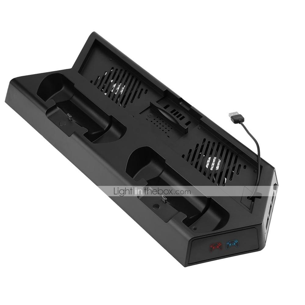 Vertical Stand Cooling Fan For Ps4 Ps4 Slim Ps4 Pro With Indicator