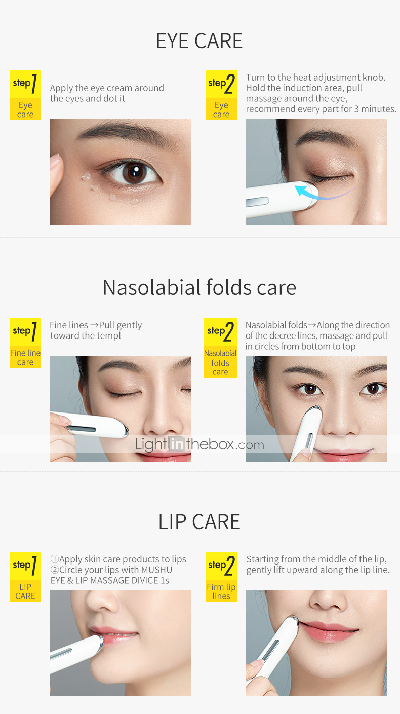 Facial Care for Daily / Face Fashionable Design / Professional / Low