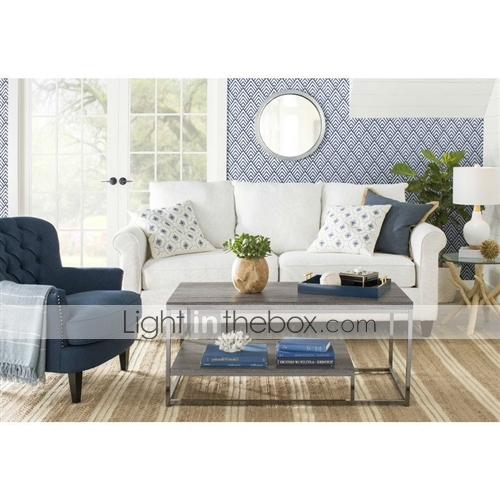 Pleasing Dark Blue Mid Century Tufted Upholstered Linen Armchair Gmtry Best Dining Table And Chair Ideas Images Gmtryco