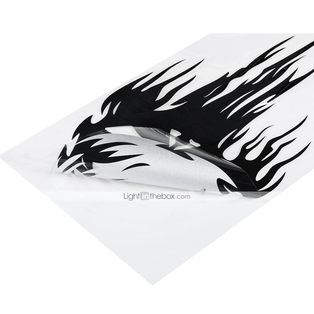 1×New Universal Motorcycle Crystal Decal Sticker Flame Decorator Stickers S/M/L Motorcycle Accessories