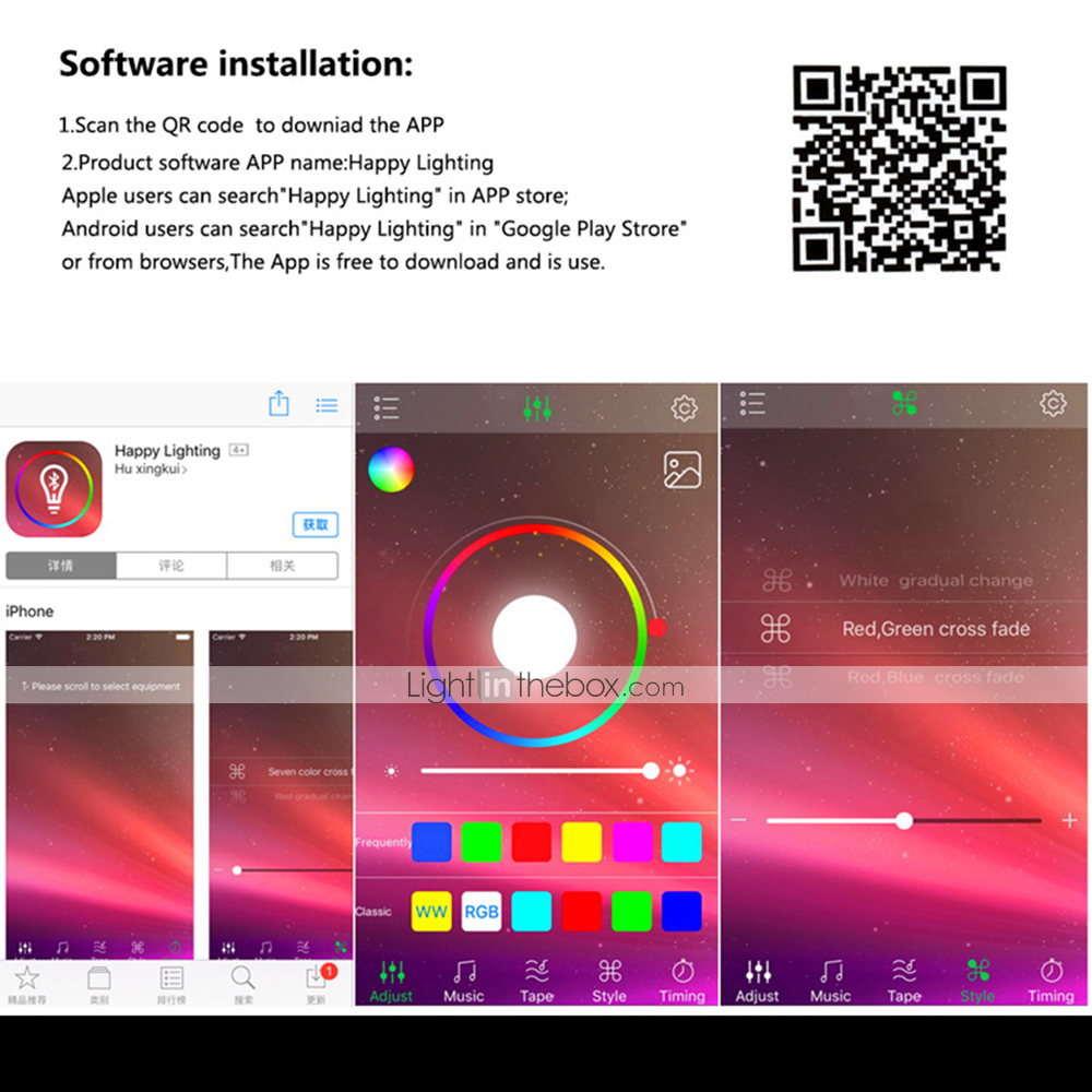 1pc 5 24 V Bulb Accessory Strip Light Accessory App Plastic Amp Metal Accessories Rgb Controller For Rgb Led Strip Light 2835 5050 Rgb Light Strip Mobile App Wireless Bluetooth Transmission 7661718 2020 16 09