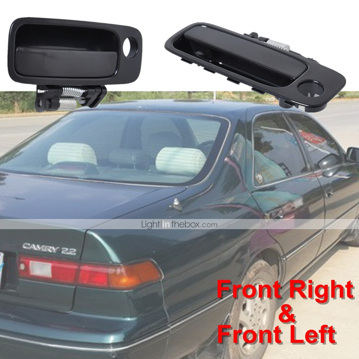 NEW RIGHT DOOR MIRROR FITS TOYOTA CAMRY 1997-2001 POWER NON-HEATED 3 HEAD 3 PINS