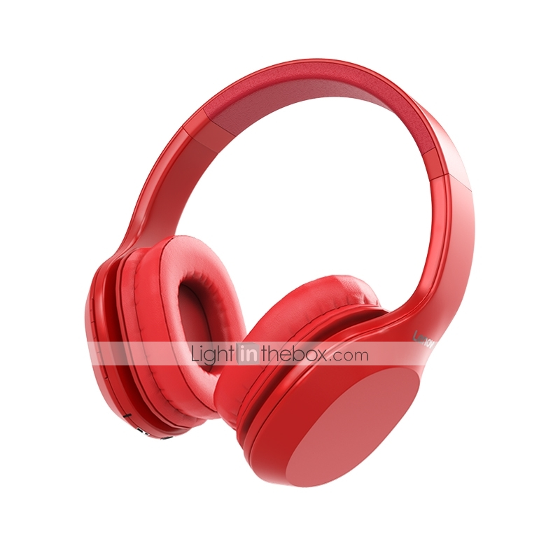Lenovo Hd100 Bluetooth Wireless Over Ear Headphones Ergonomic Head Wear Skin Friendly Ear Cover Travel Entertainment Bluetooth 5 0 Stereo With Microphone 7809851 2020 27 99