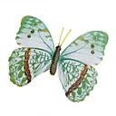 baratos Acessórios de Festa-Glow-in-escuro adesivos de parede borboleta casa 3d borboleta com pino&cortinas ímã decoração frigorífico